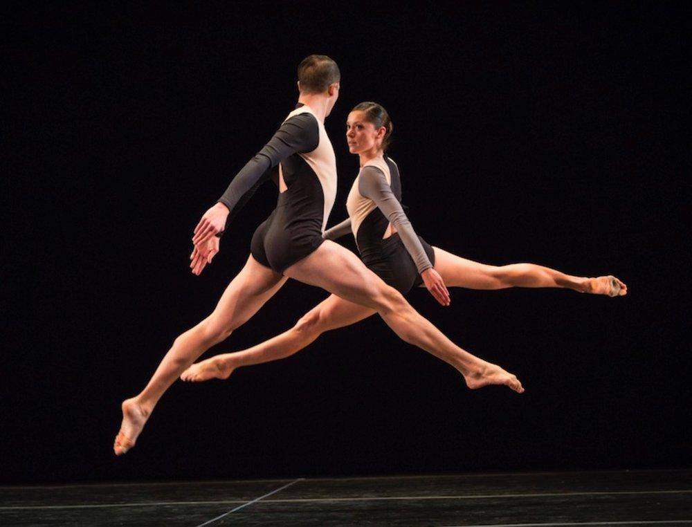 Melissa dancing Petronio's work