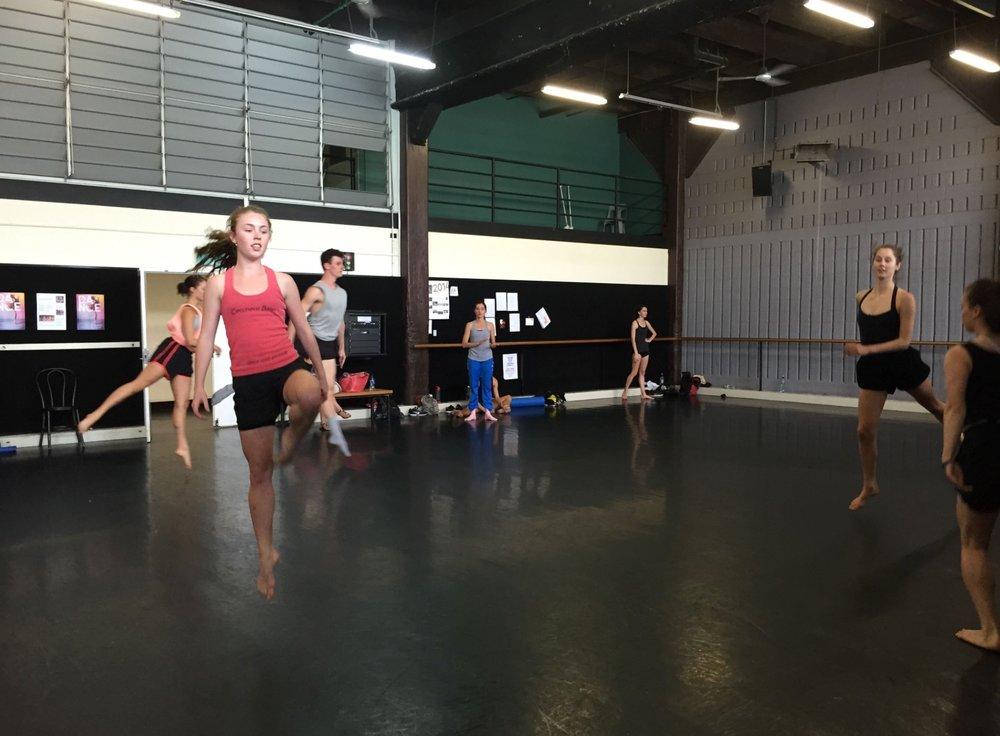 Sydney Dance Company Pre-pro course