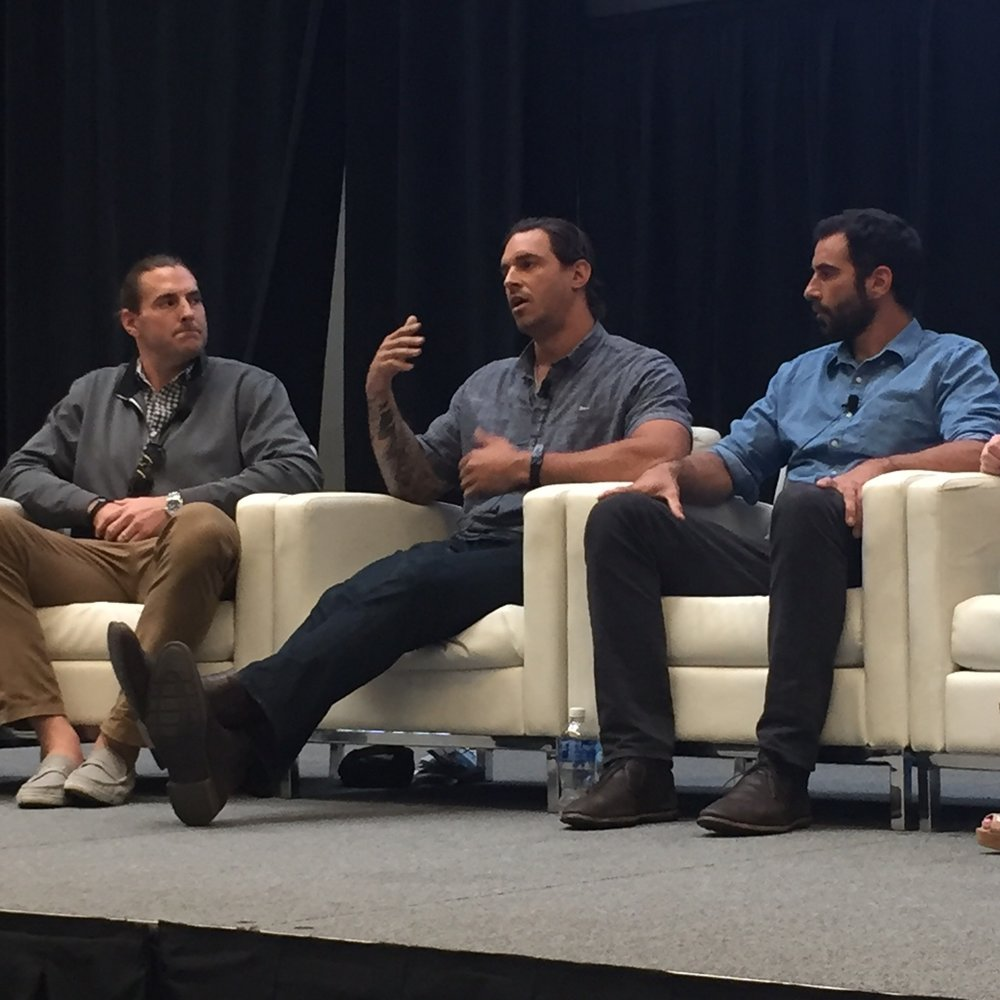 Eben Speaking at the World Cannabis Conference on the Athlete Panel