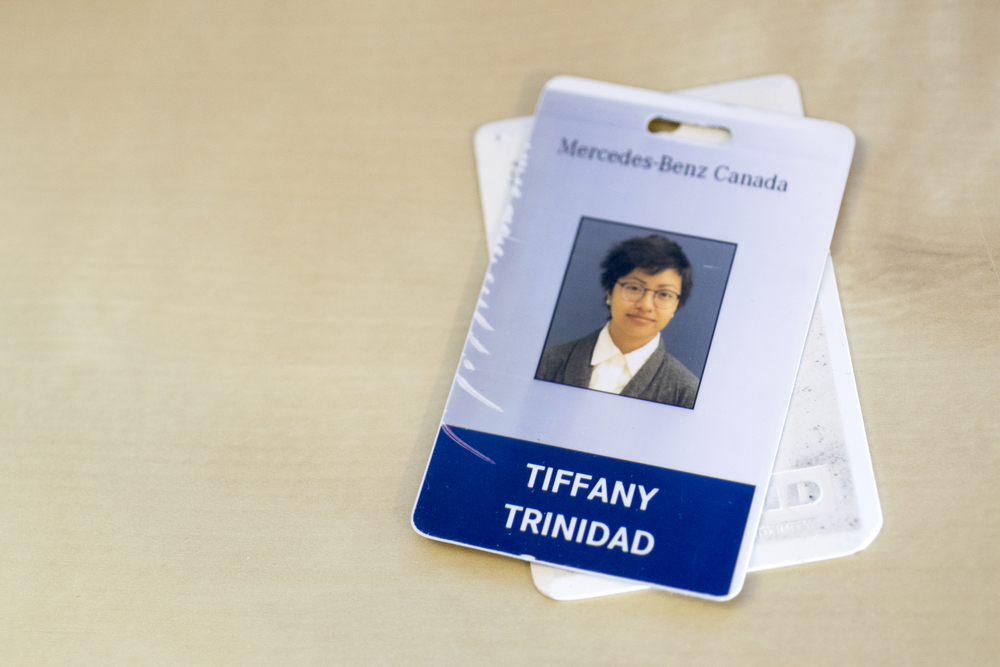 I ruined my employee ID badge almost as soon as I received it, presumably ruined from sitting on it.