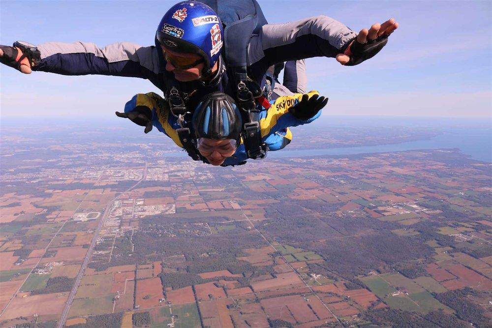 Photos: Dan Steinke/Skydive Toronto