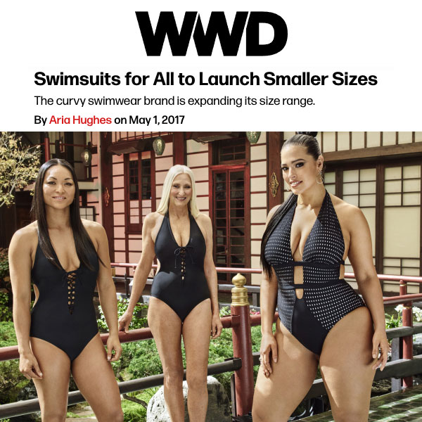 88f411afb3 WWD, Interview on Swimsuits For All Size Expansion