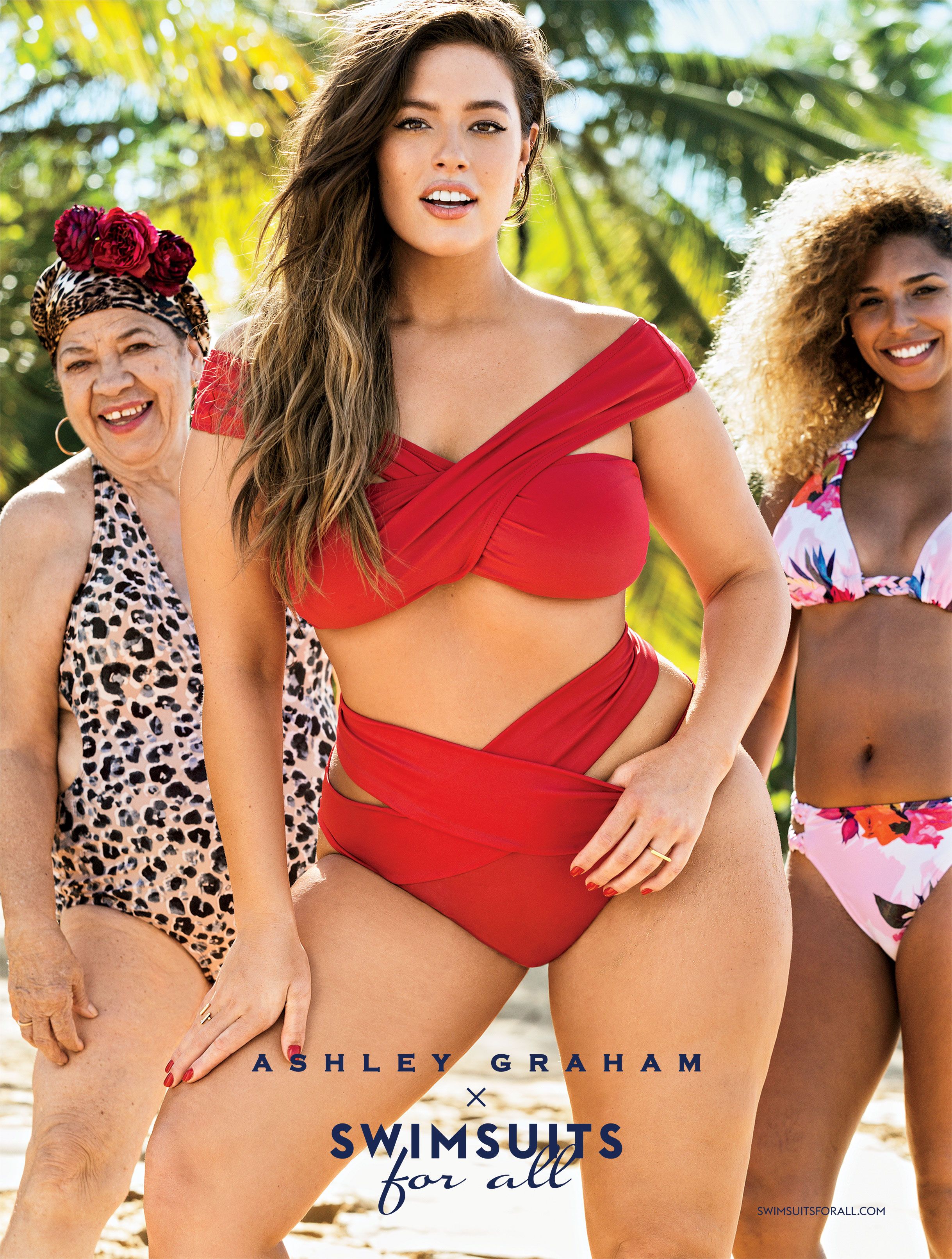 1bc507fe683 Ashley Graham x Swimsuits For All: Resort 2017