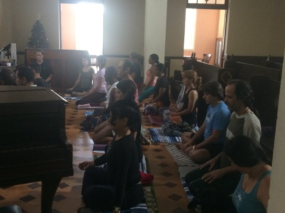 -       Residential Meditation Retreat with Narayan Liebenson and Juan Sosa held in Habana  January 2017