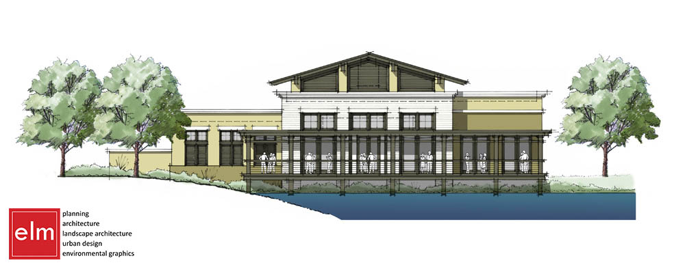 Elevation for the new Aqua Grill at Sawgrass Village