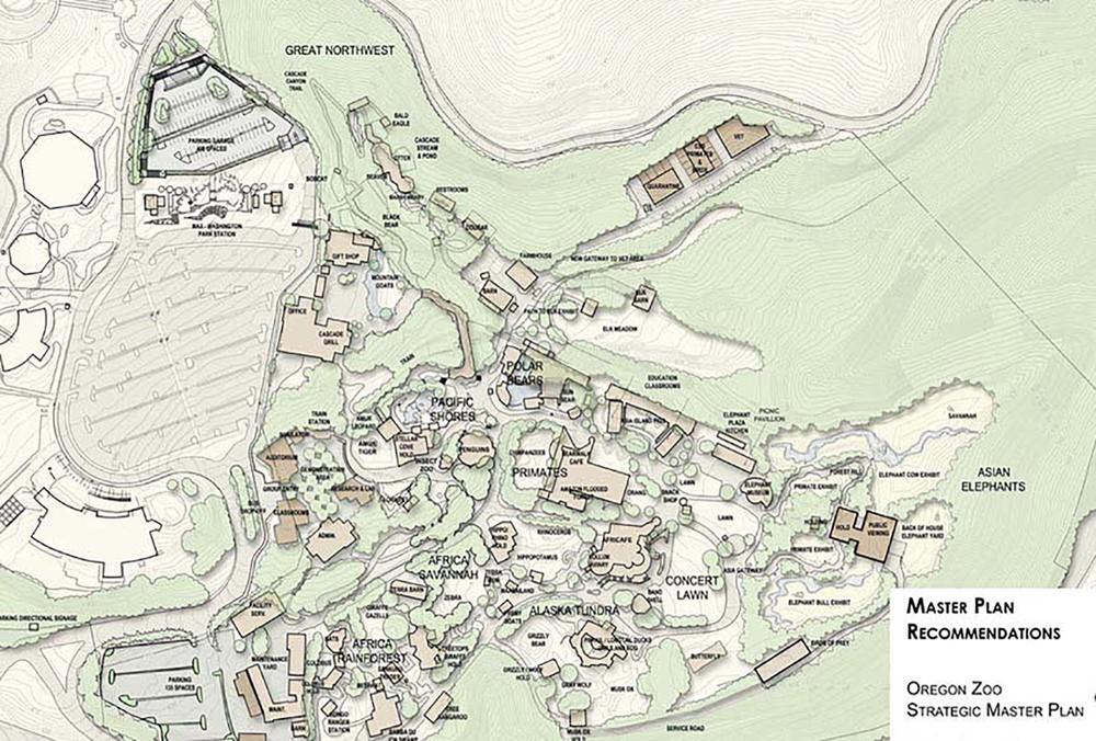 Oregon Zoo Strategic Master Plan ELM Ervin Lovett Miller