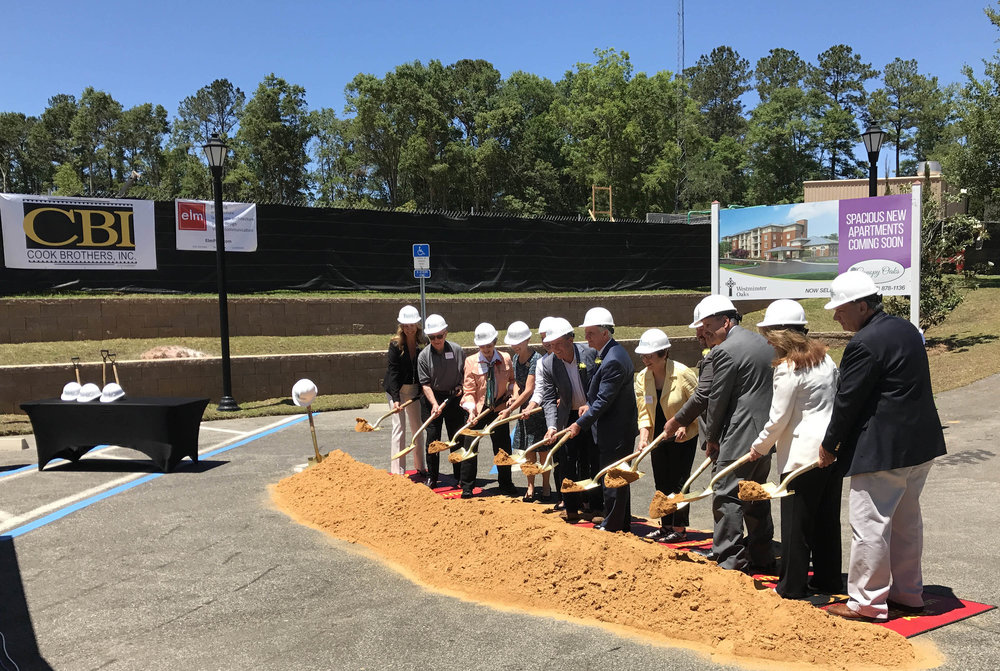 Canopy Oaks - Ground Breaking: ELM-Designed Senior Living Apartments