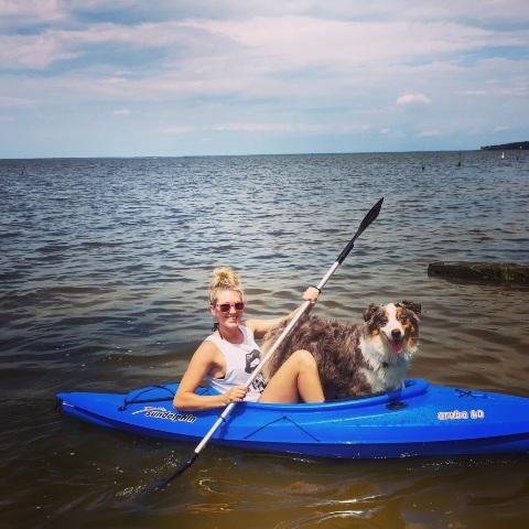 Otis and Sarah Kayaking.jpg