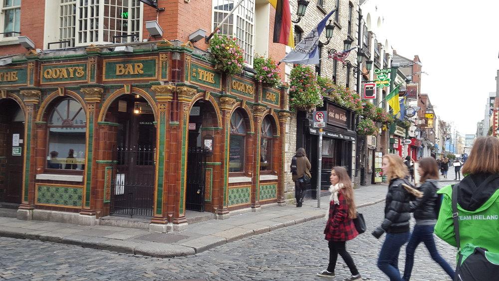 The Quays Bar - Dublin, Ireland