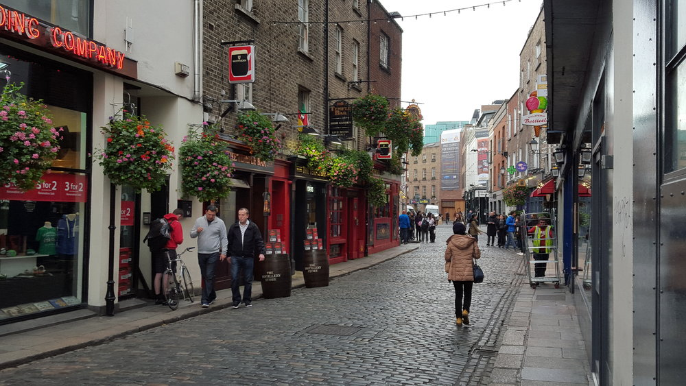 Going to The Temple Bar