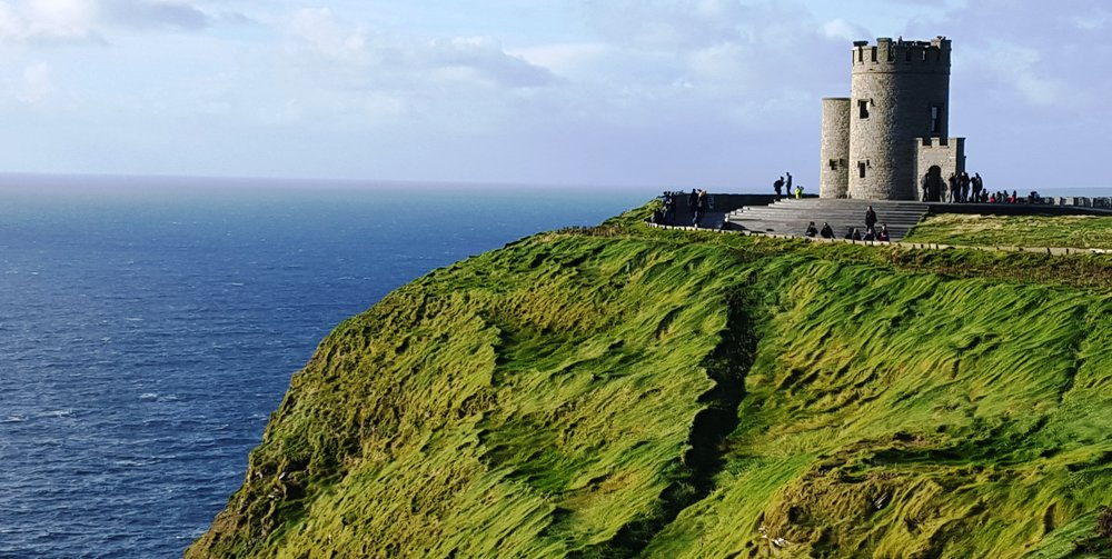 O'Brien's Castle on the Cliffs of Moher