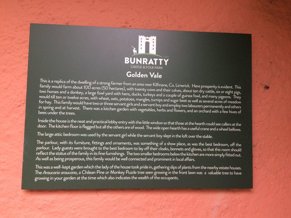 Bunratty Castle sign.jpg