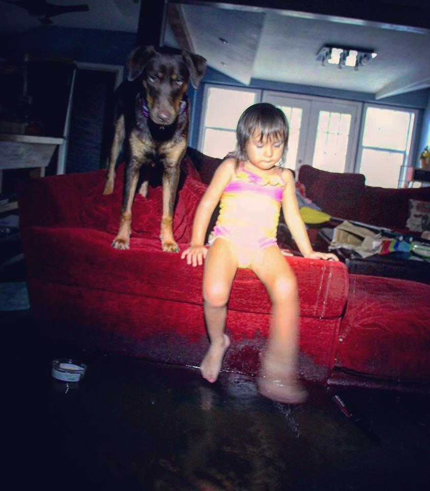 elizabeth's daughter and dog.jpg