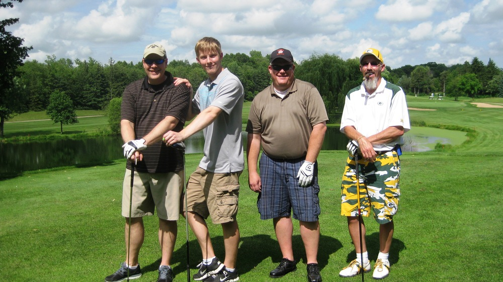 Jim, Jason, Darin and Rolf - golf as great as their style