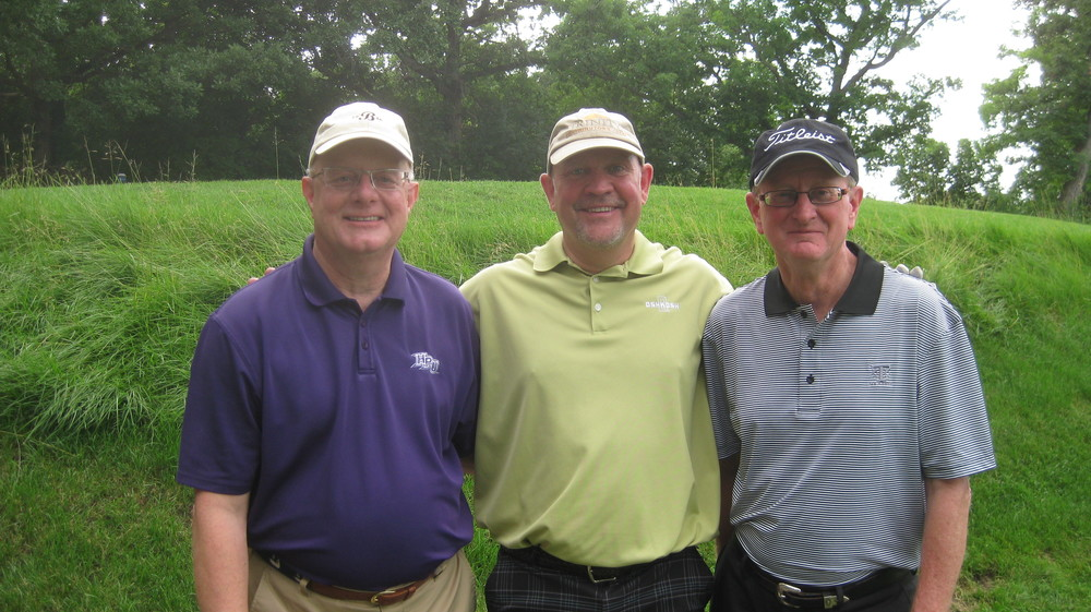 Bob, Patrick and Bill - golf their way to the top