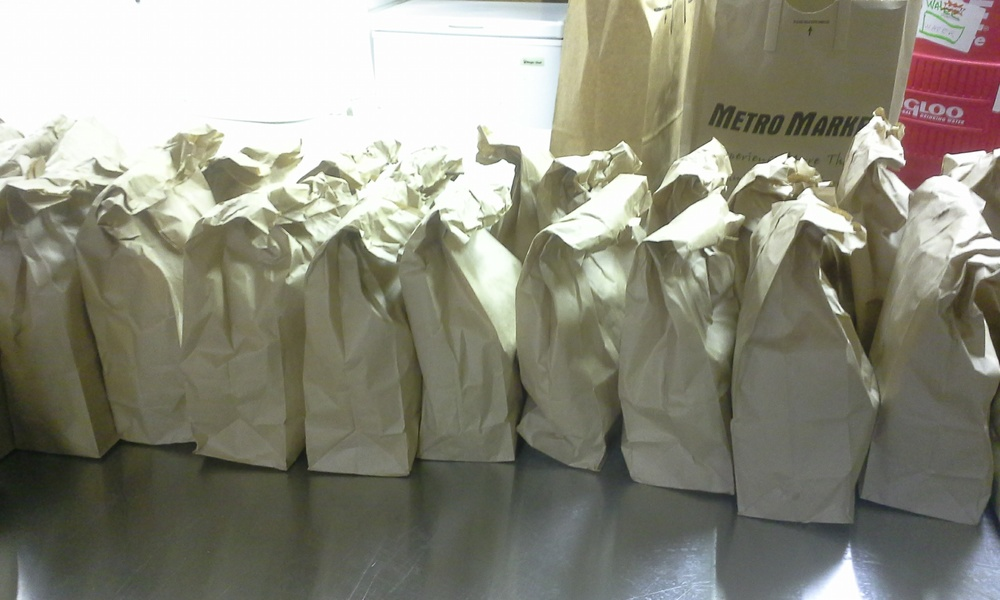 The Gathering of Southeast Wisconsin // Bagged Lunch Program