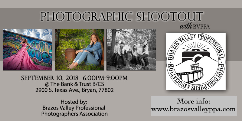 Upcoming Events — Brazos Valley Professional Photographers