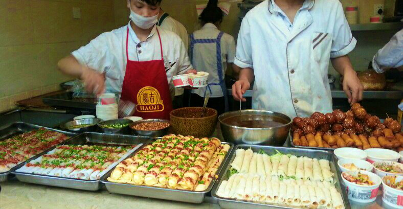 Above and Below:More delicious Chengdu street food