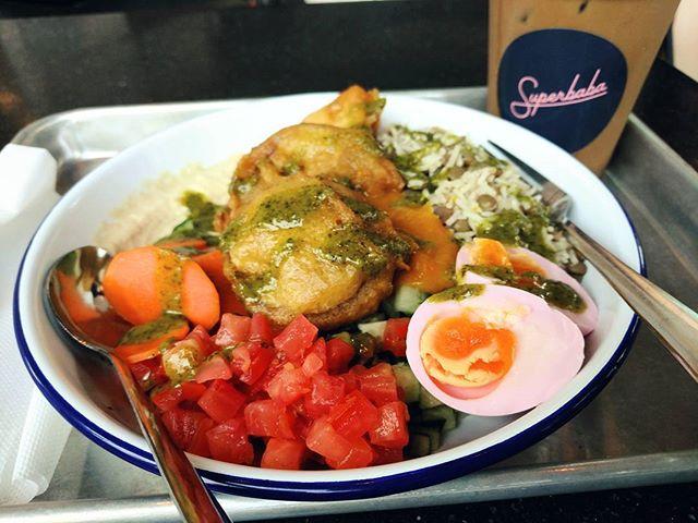Sabich Bowl. @eatsuperbaba  #gratitudeforlocalfood #superbaba #eatlocal #yyj #yyjfood #yyjeats