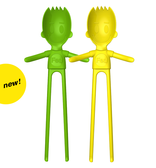 Sporkman® Green/Yellow 2-pack