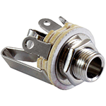 "1/4"" TRS connector"