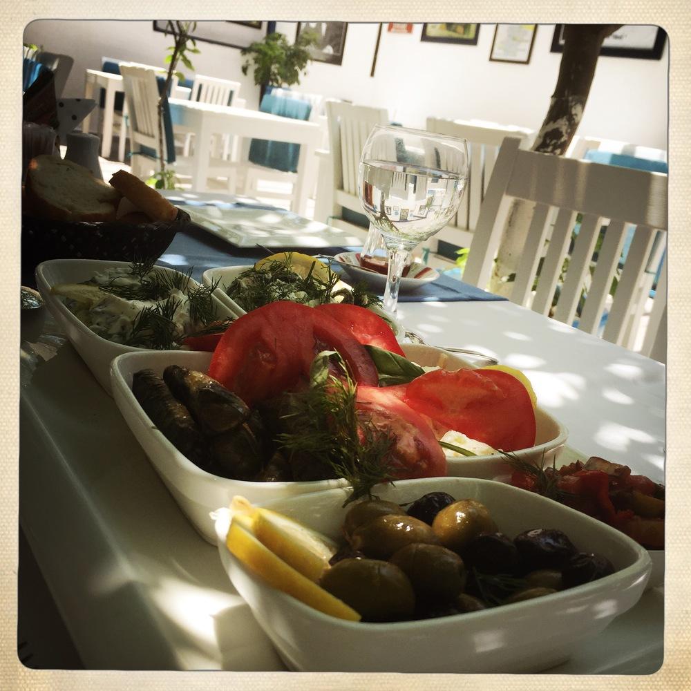 Turkish mezze: always fresh and always fabulous