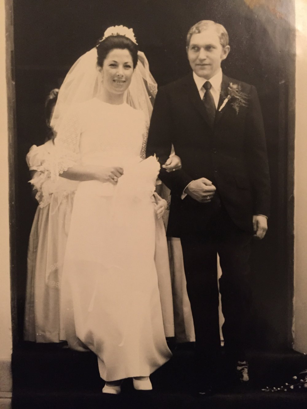 Mum & Dad's wedding in Rabat, Morocco, 1971