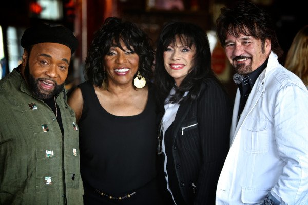 Andraé and Sandra Crouch with Reba Rambo-McGuire and Dony McGuire