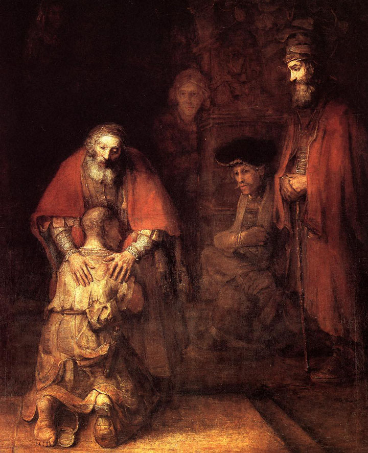 Rembrandt van rijn  Return of the prodigal son