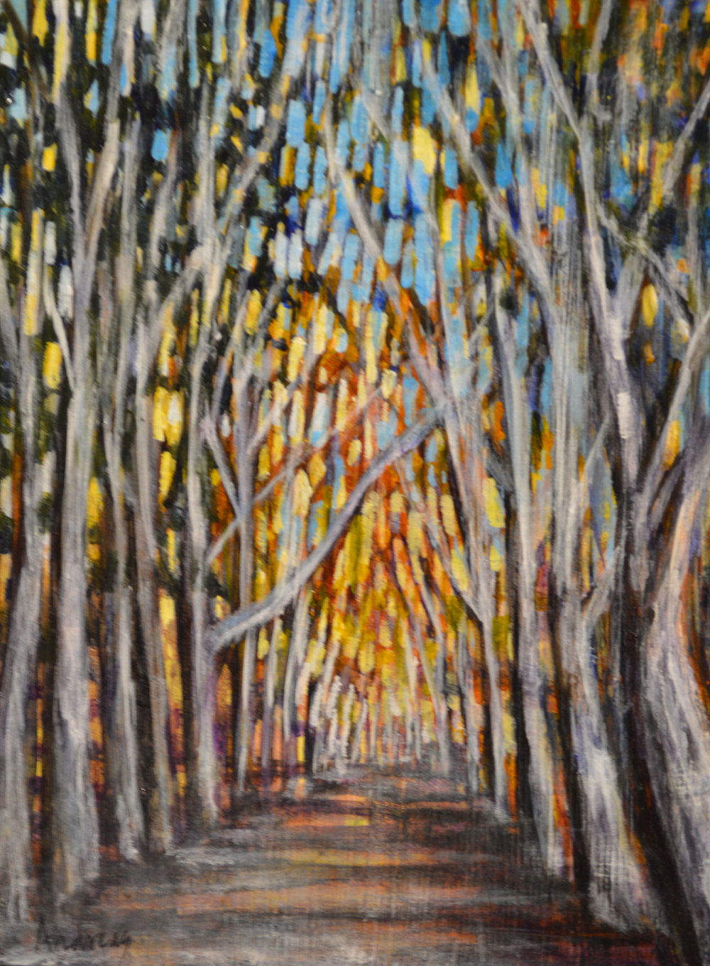 WINTER WALK (SOLD)