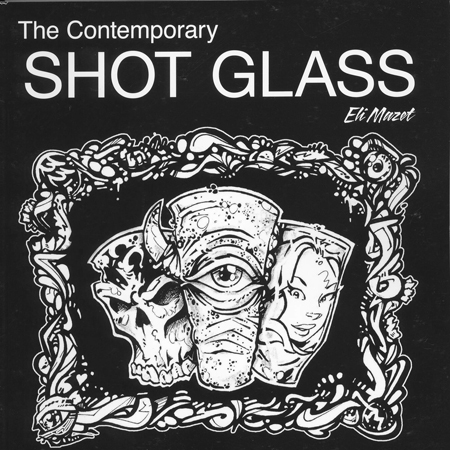The Book ,The Contemporary Shot glass is a movement in glass to bring back hand made shot glasses!!! In 1926 they made a machine that would produce a half of a million shot glasses in 24 hrs, and no one was ever inspired to make them again!!!! Featuring 40 of the top flame workers in the country!!  ‪