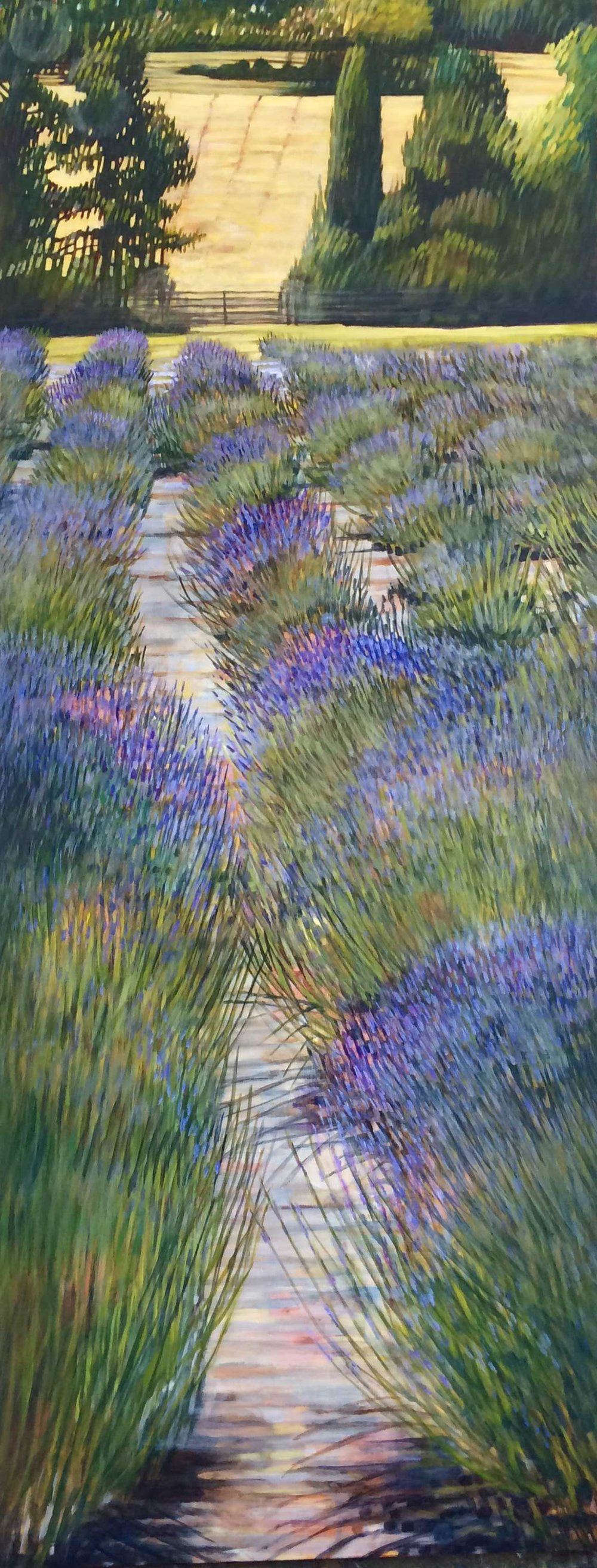 LAVENDER COUNTRYSIDE (SOLD)