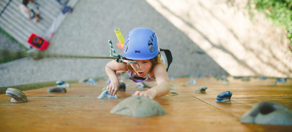 Wall Climbing Experience at Camp Kadesh