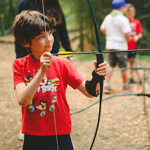 Kids Archery Camp Kadesh