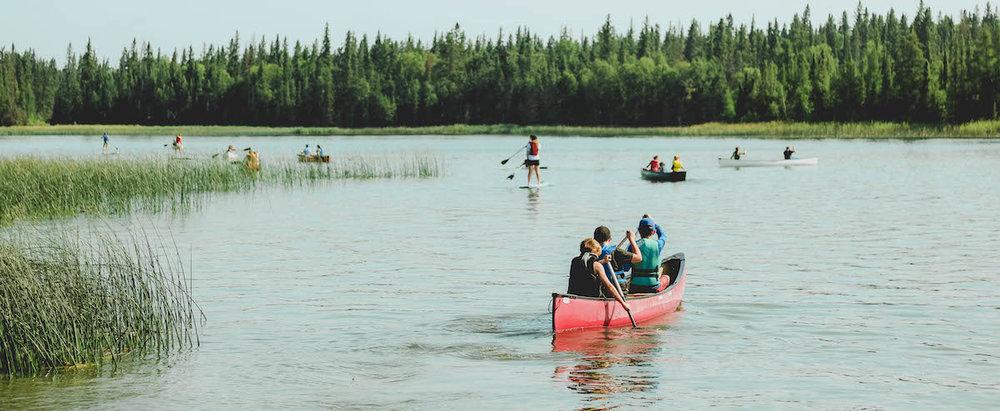 Canoe and SUP Camp Kadesh Saskatchewan