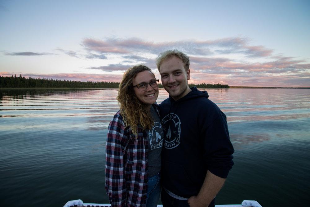 Cassie and Dan Camp Kadesh