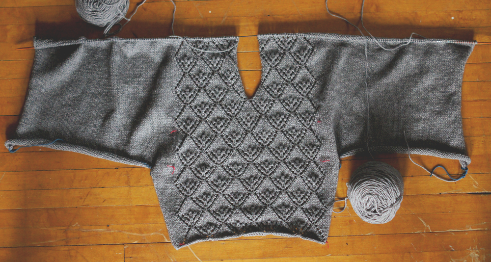 Acanthus House | Gate Pullover Halfway Through