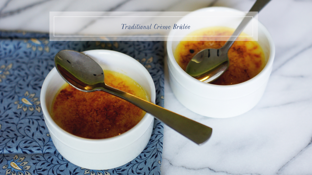 Acanthus House | A Comprehensive Guide to Making Traditional Creme Brulee
