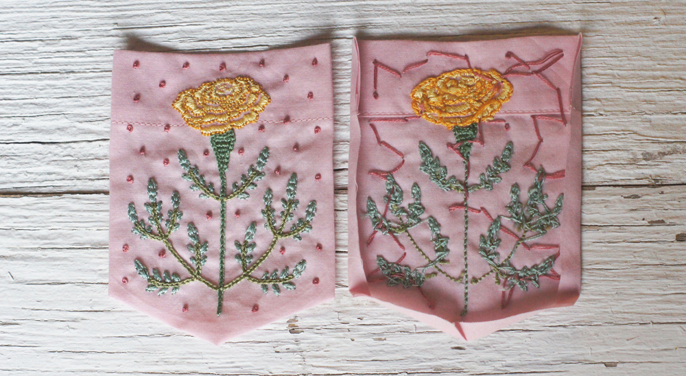 Acanthus House | Marigold Patch Pockets Ready to be Pinned