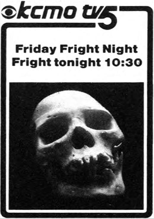 "Hughy The Ghoul aka Hugh Bowen  ""Friday Fright Night""  KCTV  5 Kansas City, MO.  1980s"