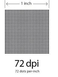 72dpi