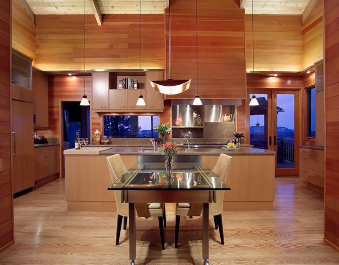This kitchen was featured in the January 2008 'K&BB' (Kitchen & Bath Business) magazine.