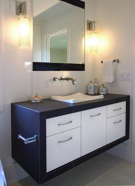 A unique vanity.