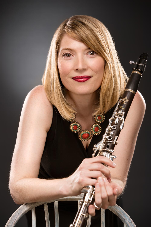 Clarinetist Melissa Lander