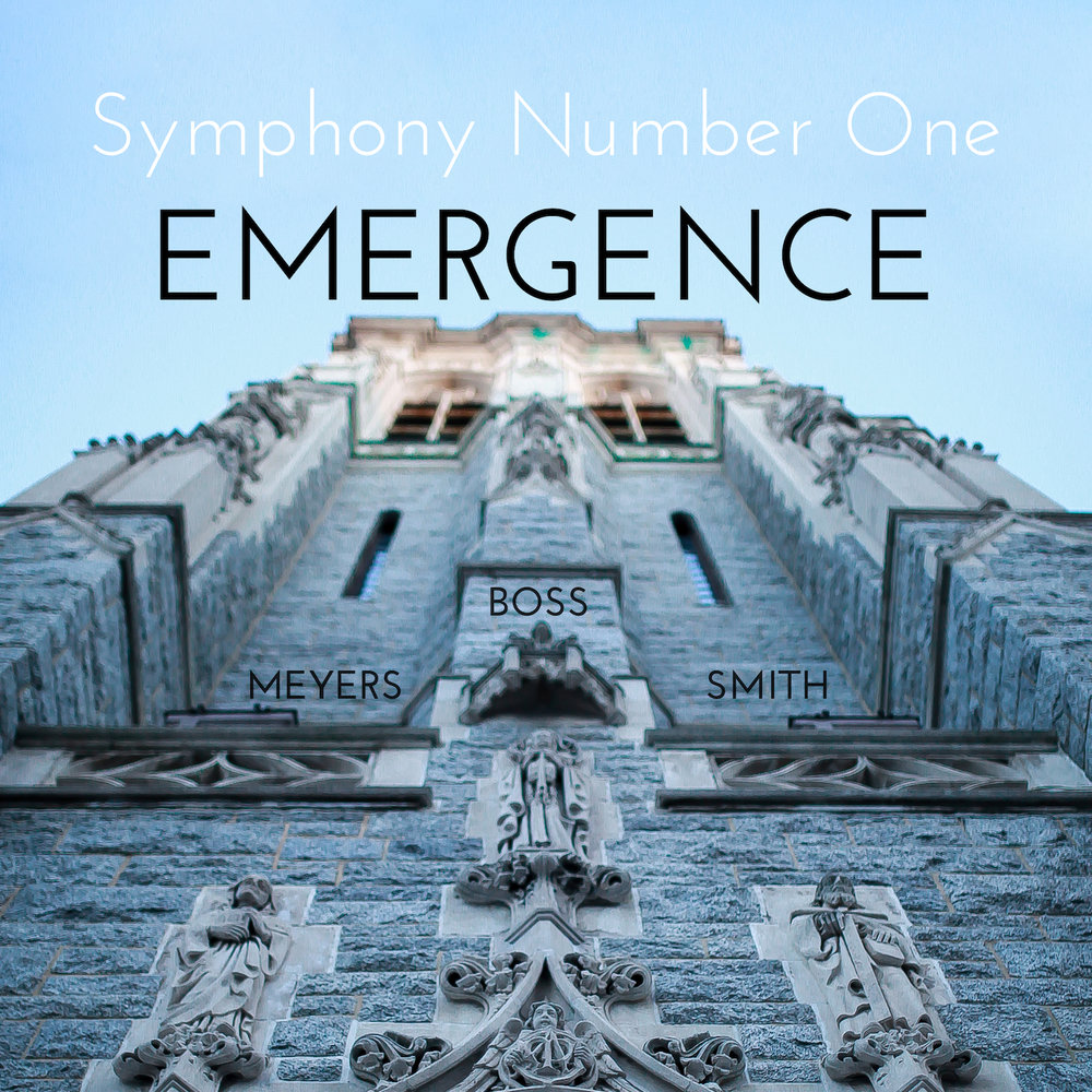 Album Cover for Emergence. Download.