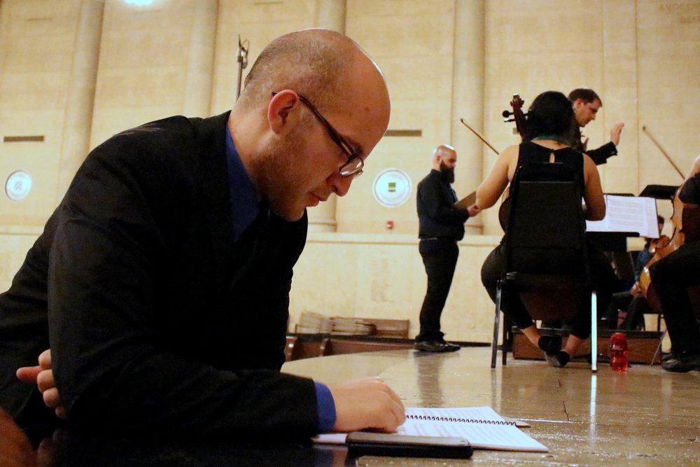 Rehearsing Mark's Symphony No. 1