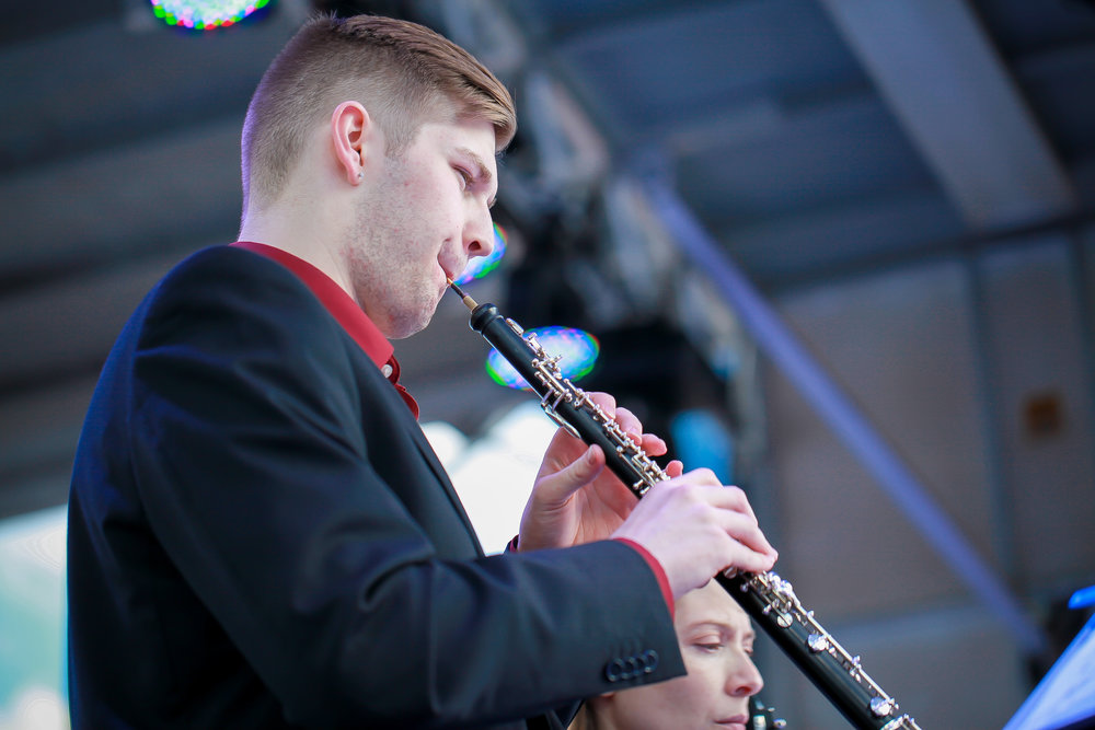 Garrett Hale, oboe