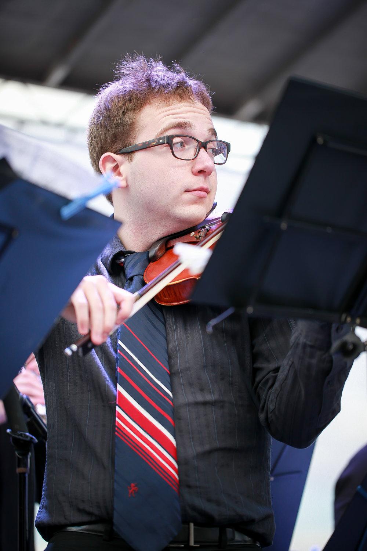 Nicholas Bentz, violin