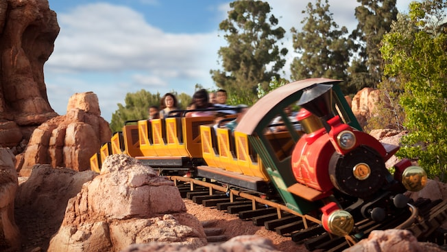 Big Thunder Mountain Railroad -