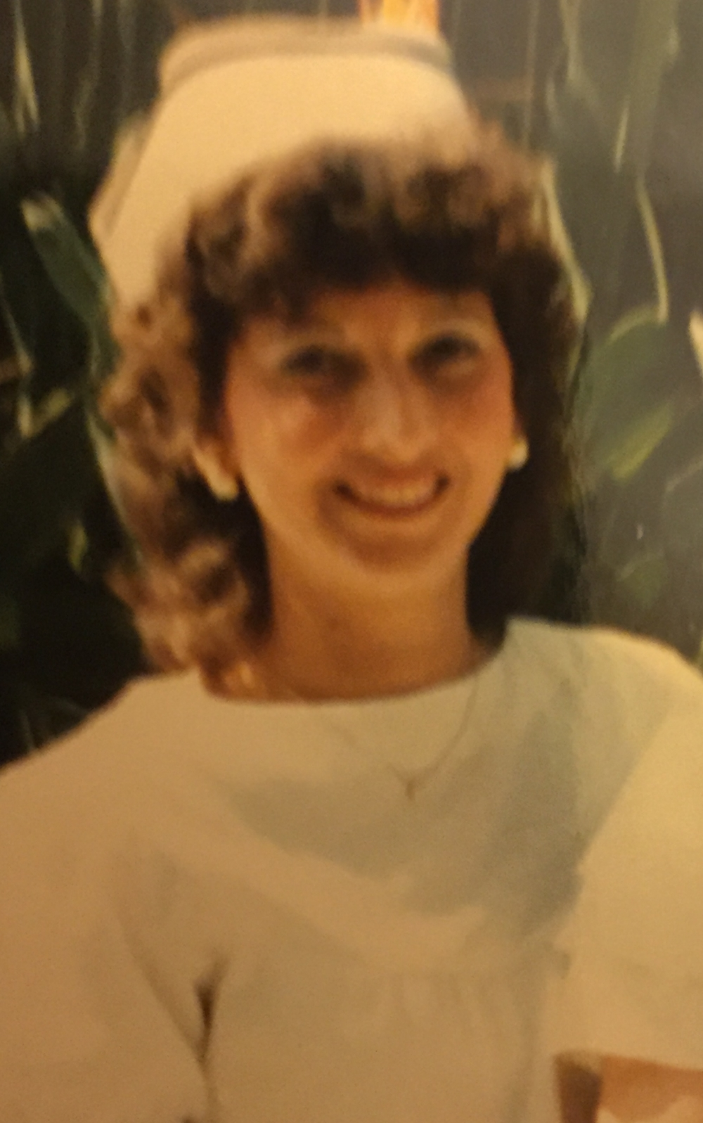 Valerie Melvin as a nurse for cape coral hospital circa 1986
